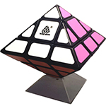 WitEden Octahedral Mixup I Magic Cube Black