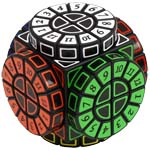 Time Machine Magic Cube Puzzle Black