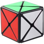 ShengShou Legend 8 Axis Dino Skewb Magic Cube Black