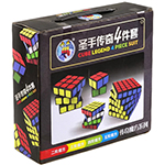 ShengShou Legend 4 Magic Cubes Bundle - 2x2 3x3 4x4 5x5 Cube...