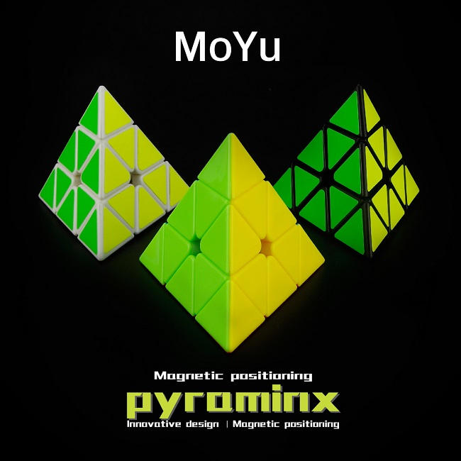 MoYu Magnetic Positioning Pyraminx Speed Cube